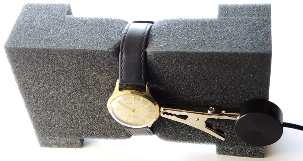 crocodile microphone watch measurement